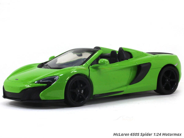 McLaren 650S Spider 1:24 Motormax diecast scale model car