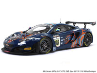 McLaren MP4-12C GT3 24h Spa 2013 1:18 Minichamps diecast scale model car