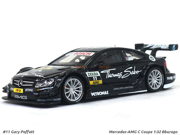 Mercedes-AMG C Coupe 1:32 Bburago diecast Scale Model Car