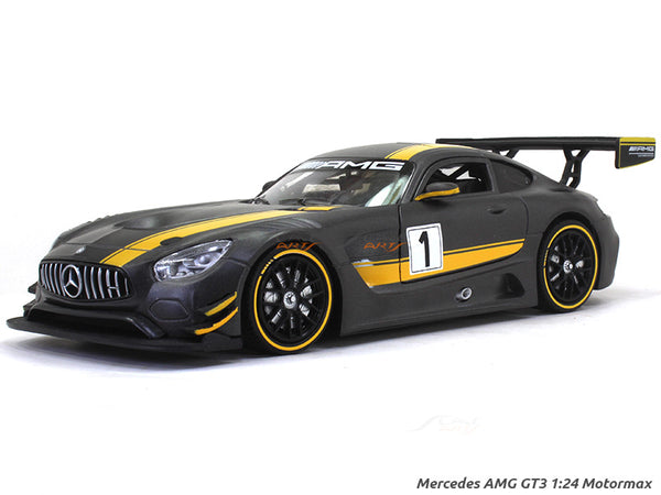 Mercedes AMG GT3 1:24 Motormax diecast scale model car
