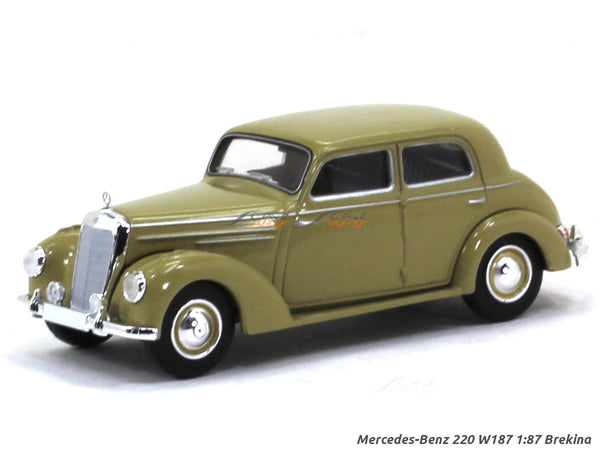 Mercedes-Benz 220 W187 1:87 Brekina HO Scale Model car