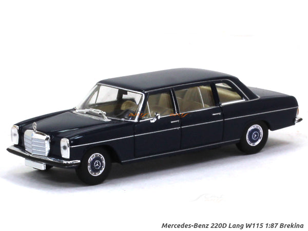 Mercedes-Benz 220D Lang W115 1:87 Brekina HO Scale Model car