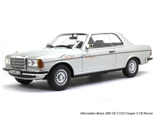 1980 Mercedes-Benz 280CE C123 1:18 Norev diecast scale model car