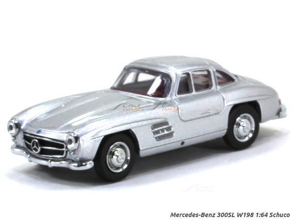 Mercedes-Benz 300SL W198 1:64 Schuco diecast Scale Model car