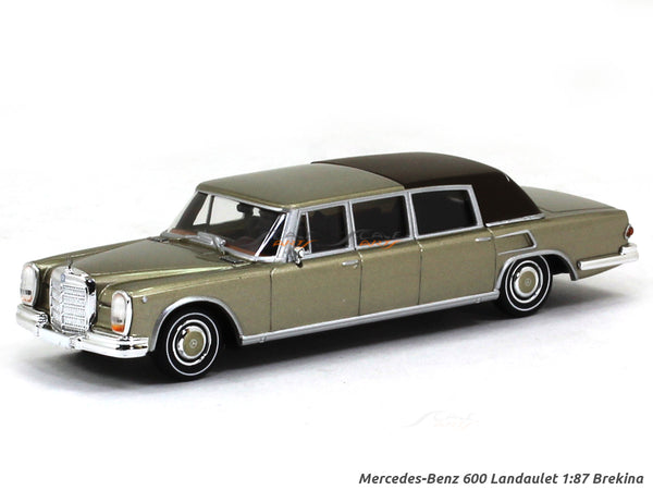 Mercedes-Benz 600 Landaulet 1:87 Brekina HO Scale Model car