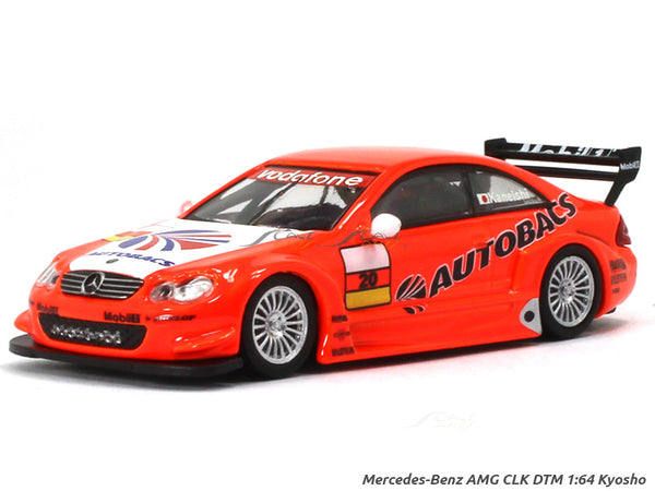 Mercedes-Benz AMG CLK DTM Autobacs 1:64 Kyosho diecast Scale Model car