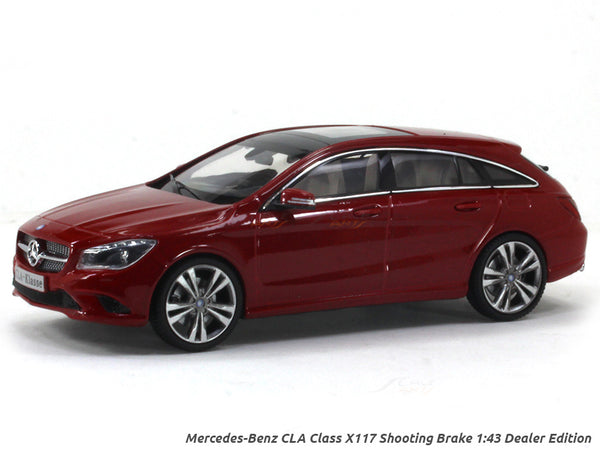 Mercedes-Benz CLA Class X117 Shooting Brake 1:43 Dealer Edition diecast Scale Model car