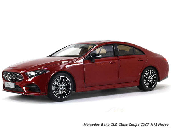 Mercedes-Benz CLS-Class Coupe C257 1:18 Norev Dealer edition