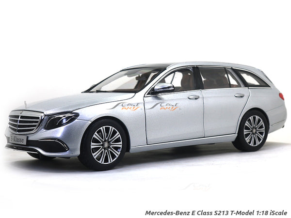 Mercedes-Benz E Class S213 T-Model silver 1:18 iScale diecast Scale Model Car