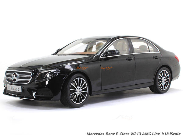 Mercedes-Benz E-Class W213 AMG Line black 1:18 iScale diecast Scale Model Car
