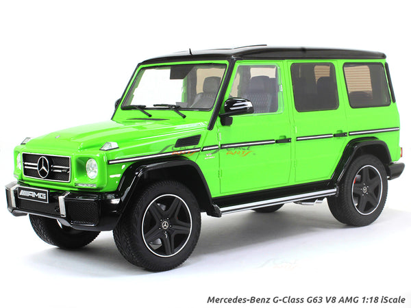 Mercedes-Benz G-Class G63 V8 AMG alien green 1:18 iScale diecast scale model car