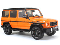 Mercedes-Benz G-Class G63 V8 AMG sunsetbeam orange 1:18 iScale diecast scale model car
