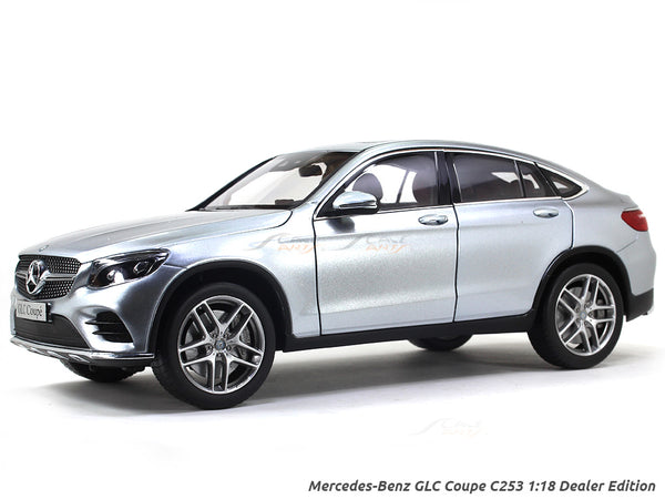 Mercedes-Benz GLC Coupe C253 1:18 Dealer Edition diecast scale model
