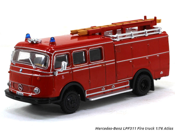 Mercedes-Benz LPF311 Fire truck 1:76 Atlas diecast scale model truck