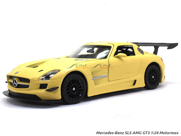 Mercedes-Benz SlS AMG GT3 1:24 Motormax diecast scale model car