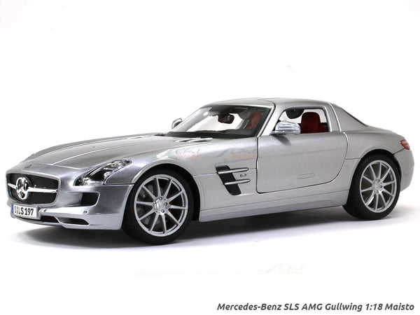Mercedes-Benz SLS AMG Gullwing 1:18 Maisto diecast Scale Model car