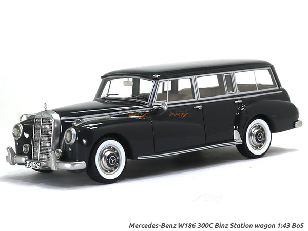 Mercedes-Benz W186 300C Binz Station wagon 1:43 BoS Scale Model Car