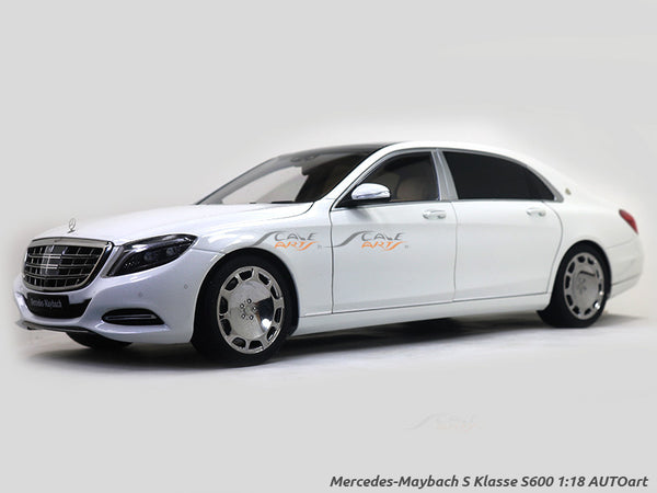 Mercedes-Maybach S Klasse S600 1:18 AUTOart Scale Model Car
