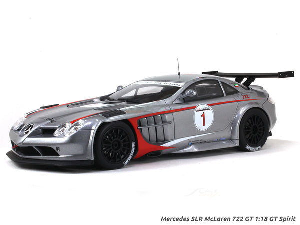 Mercedes SLR McLaren 722 GT 1:18 GT Spirit scale model car