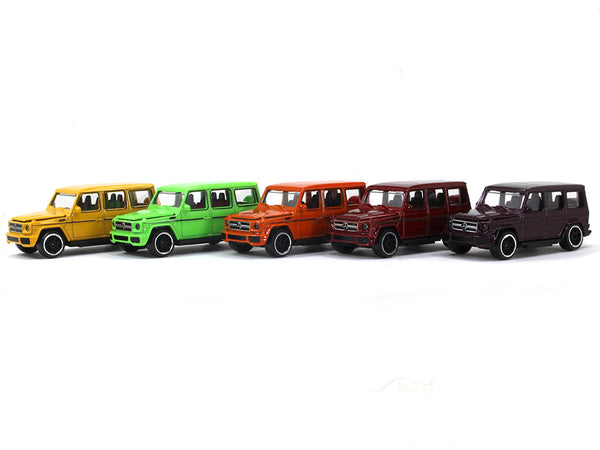 Mercedes-Benz AMG G63 Color edition 1:64 Majorette diecast Scale Model car