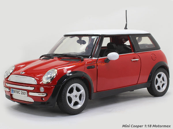 Mini Cooper 1:18 Motormax diecast scale model car
