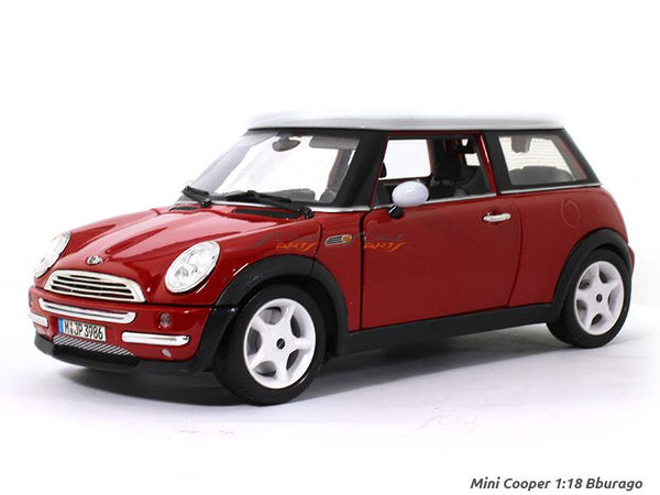 Mini Cooper 1:18 Bburago diecast scale model car
