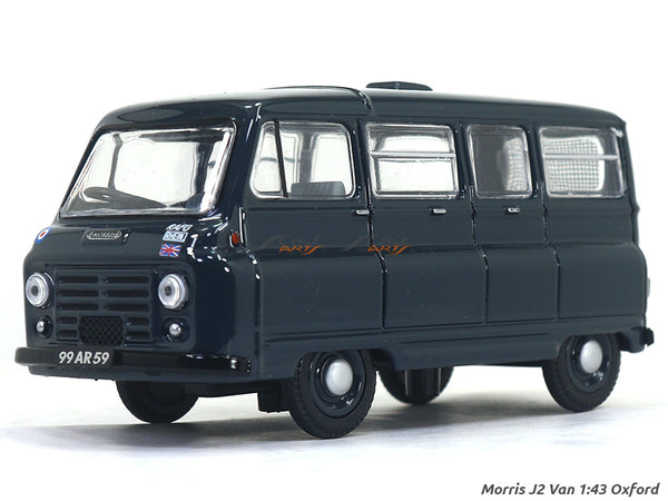 Morris J2 Van 1:43 Oxford diecast Scale Model Car
