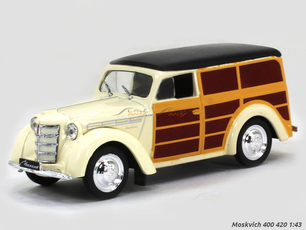 1947 Moskvich 400 420 1:43 diecast Scale Model Car