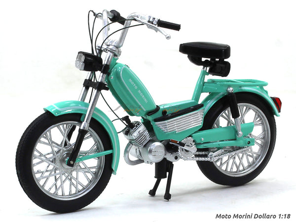 Moto Morini Dollaro 1:18 Leo Models diecast scale model bike