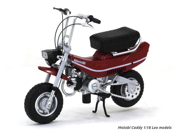 Benelli / Motobi Caddy 1:18 Leo Models diecast scale model bike