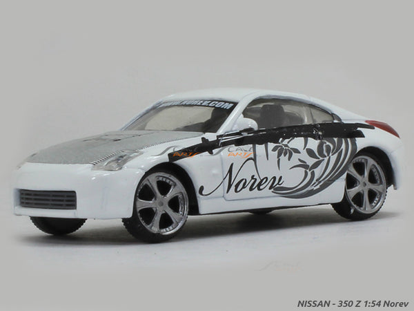 Nissan 350Z 1:54 Norev diecast scale model car