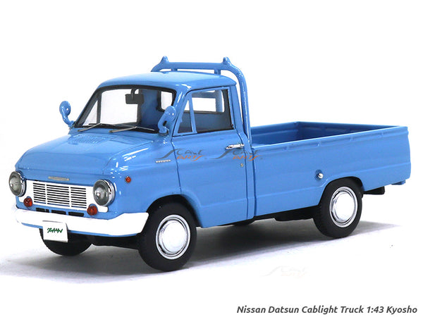 Nissan Datsun Cablight Truck blue 1:43 Kyosho diecast Scale Model Truck