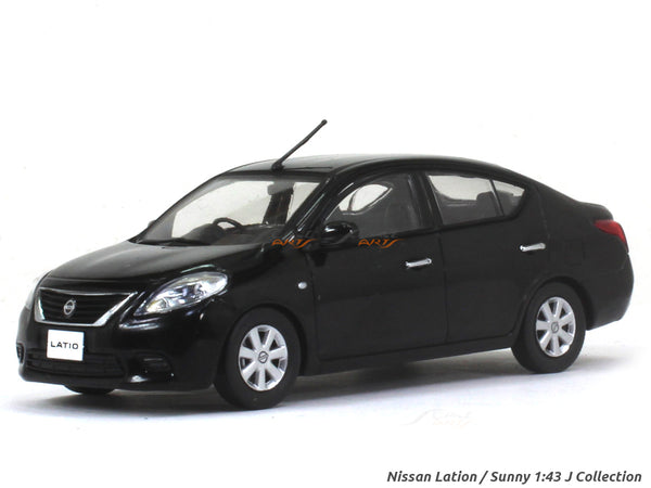 Nissan Lation / Sunny black 1:43 J Collection diecast Scale Model car