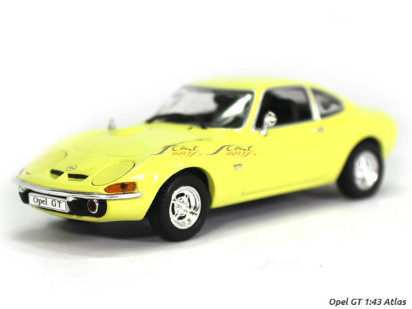 Opel GT 1:43 Atlas diecast Scale Model Car