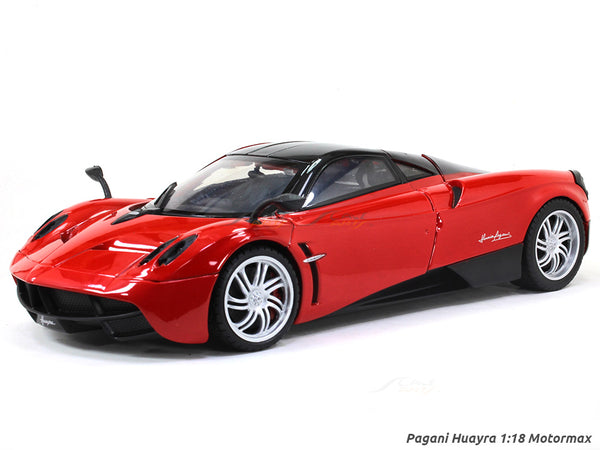 Pagani Huayra red 1:18 Motormax diecast scale model car