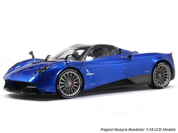 Pagani Huayra Roadster Blue 1:18 LCD models diecast scale car
