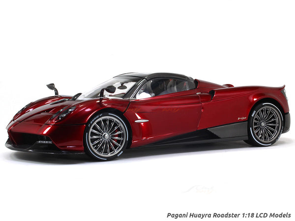 Pagani Huayra Roadster Red 1:18 LCD models diecast scale car