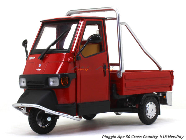 Piaggio Ape 50 Cross Country 1:18 NewRay diecast scale model