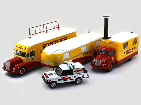 Pinder Circus set 1:43 Atlas diecast Scale Model Car