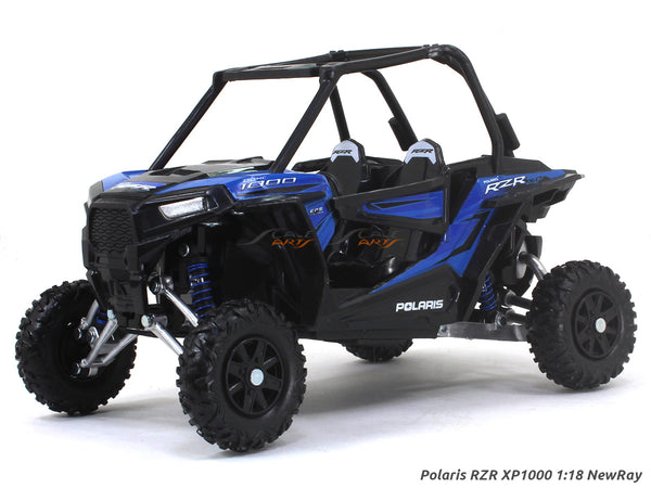 Polaris RZR XP1000 blue 1:18 NewRay ATV diecast scale model