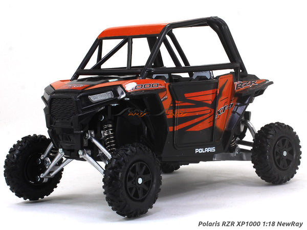 Polaris RZR XP1000 orange 1:18 NewRay ATV diecast scale model