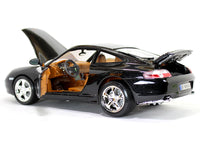 Porsche 911 Carrera 4 Black 1:18 Bburago diecast Scale Model car