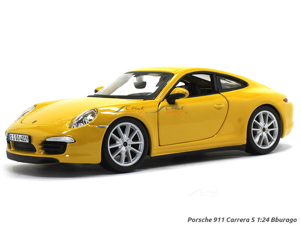 Porsche 911 Carrera S 1:24 Bburago diecast Scale Model car