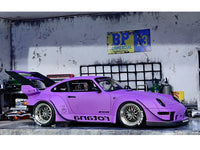 Porsche 911 (993) RWB Rotana 1:18 GT Spirit scale model car