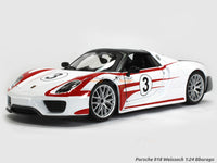 Porsche 918 Weissach 1:24 Bburago diecast Scale Model car