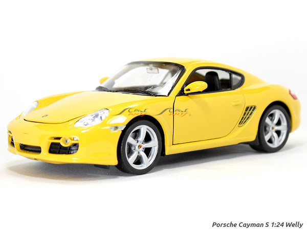 Porsche Cayman S 1:24 Welly diecast Scale Model car