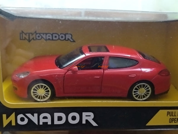 Porsche Panamera S red 1:38-46 Innovador diecast Scale Model Car