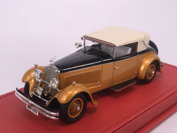 PreOrder : 1930 Delage D8S Figoni Maharaja of Holkar close 1:43 Evrat Scale Model Car