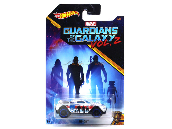 RD 08 Guardians of the Galaxy Vol. 2 1:64 Hotwheels diecast Scale Model car