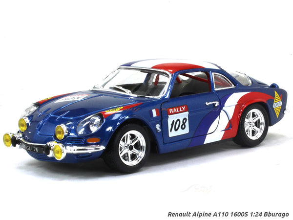 Renault Alpine A110 1600S 1:24 Bburago diecast scale model car